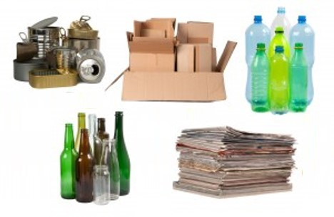 Recyclable materials all area appliance for Waste material images